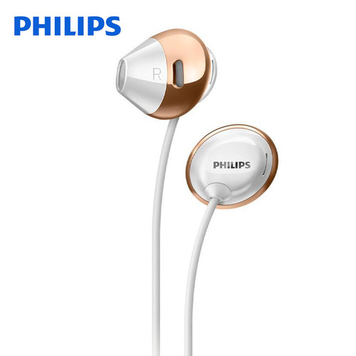 Philips SHE4205 Earphones Bass with Microphone Wired Control In-Ear Active  Noise Cancelling headsets for Samsung Xiaomi phones