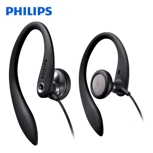 Philips SHS3300 Ear Hook Type Sport Earphone with active Noise Cancelling Function Headsets For Phone Official Certification