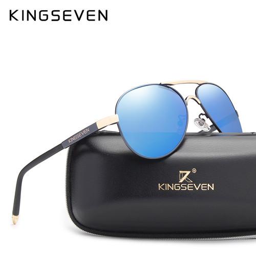 KINGSEVEN Brand New Unisex Aluminum Polarized Sunglasses Women Men Design Travel Driving Sun Glasses Classic Male Eyewear Gafas