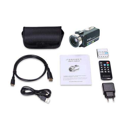 "KaRue  Digital Photo Camera with Mic and Remote HD Digital Video Camera Camcorder 16x Digital Zoom DV 3.0"" TFT Screen Profession"