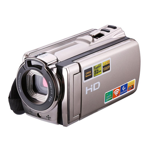 "Digital Video Camera WIFI Professional Camcorder DV 16x Digital Zoom HD IR Night Vision 3.0"" LCD Touch Screen Photo Camera"