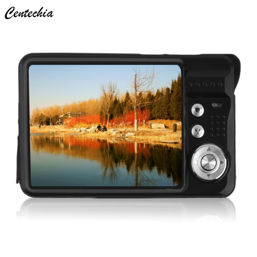 Centechia Digital Camera 2.7inch TFT LCD 18MP HD720P Photo Video Camcorder 8XZoom Anti-shake DV LED Fill Light Non-touch travel