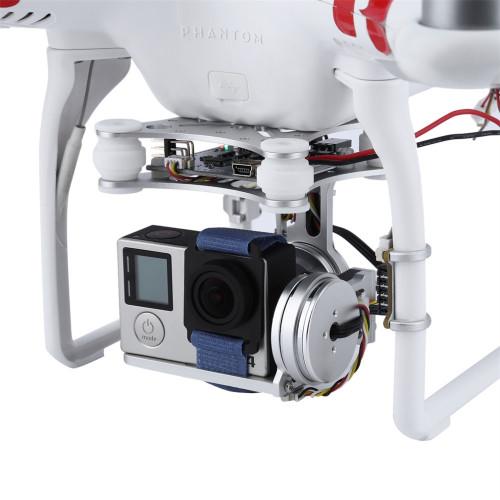 2 Axis Brushless Gimbal Lightweight Aerial Photography Gimbal plug and play PTZ For DJI Phantom 1 2 F550 F450 GoPro DIY Drone