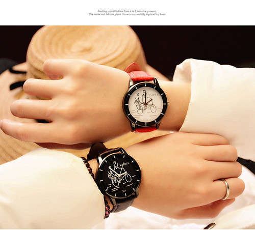 2017 Hot Sale Yazole Leather Straps Watch Women Fashion Casual Quartz Watch Popular Students Wrist Watch Clock Relogio Feminino
