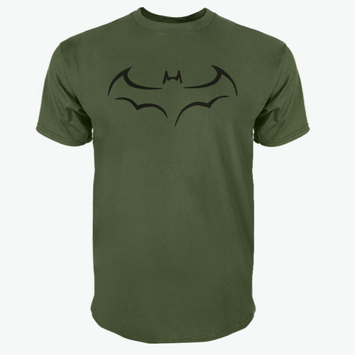 100% COTTON men t shirt casual short sleeve t-shirt for men batman print men T shirt crewneck mens tee shirt