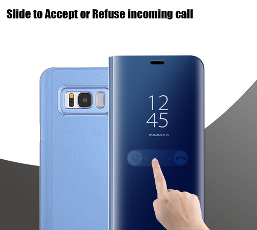 Smartchip Case For Samsung Note8 S8 S8+ Plus Mirror Case Phone Bag Flip Cover Stand Holder Capa For Samsung Galaxy S8 Plus Chip