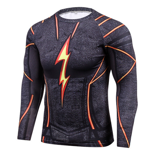 New Marvel Superhero Winter Soldier 3D Men T Shirt Fitness Crossfit T-Shirt Long Sleeve Compression Shirt Mens