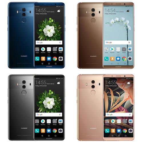 "Huawei Mate 10 Pro Global Firmware Smartphone Android 8.0 Dual Rear 20MP+12MP 4000mAh 6.0"" 2160*1080 Kirin970 Fingerprint NFC"
