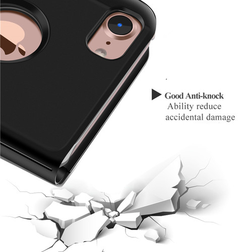 S-GUARD Luxury Case For iPhone 6 6s 7 7 Plus Ultra Slim Mirror Smart case for iPhone 8 iPhone 7 Cover Phone Holder For iPhone X