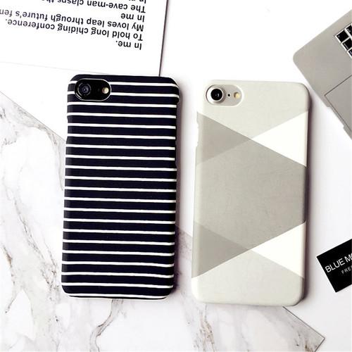 Zebra Stripe Case For iPhone X 8 7 7Plus Black White Painted Hard Protect Capa Coque Phone Case For iPhone 5S 6 6S Plus 6SPlus