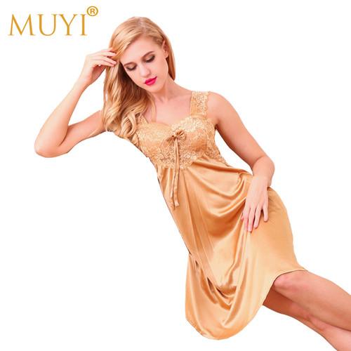 Nightgowns Sexy Sleepwear Women Nightwear Sexy Night Dresses Lace Babydoll Dress Sleep Lounge Plus Size Nightgown Ladies Wear