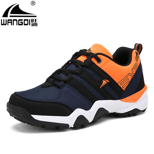 2017 Newly Autumn Man Leisure Shoes 45 46 Men Mesh +Synthetic Soft Lightness Student Shoes Fashion Casual Shoes Man Sneakers