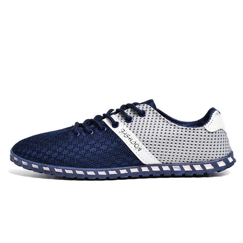 COSIDRAM Breathable Mesh Men Casual Shoes New 2017 Fashion Men Shoes Soft Spring Autumn Footwear For Male Plus Size 46 RME-307