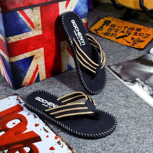 2018 New Arrival Men Summer Flip Flops Shoes Casual Beach Sandals Male Fashion Outdoor Slipper Flip-flops High quality Shoes