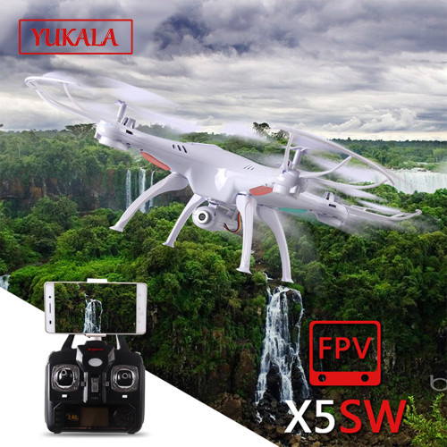 X5S X5SC X5SW FPV Drone X5C Upgrade 2MP FPV Camera Real Time Video RC Quadcopter 2.4G 6-Axis Quadrocopter RC Airplane toy