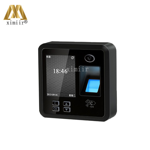 TCP/IP Color Screen Biometric Fingerprint And RFID Card Reader Door Access Control System Standalone Fingerprint Time Attendance