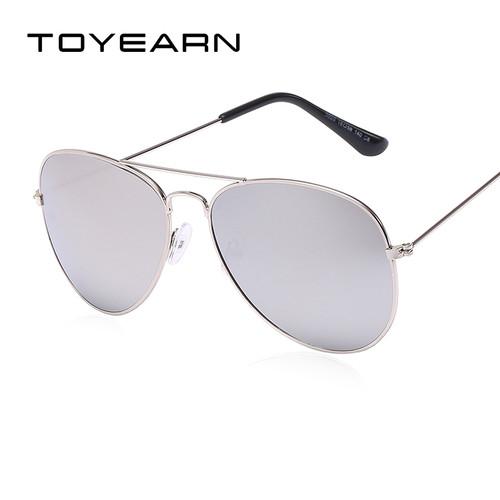 TOYEARN Vintage Classic Brand Designer Men's Pilot Sunglasses Women Men Driving UV400 Mirror Sun Glasses Female Oculos de sol