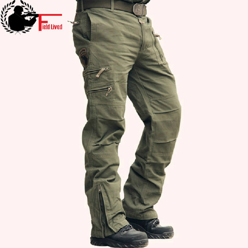 Tactical Pants Male Camo Jogger Casual Plus Size Cotton Trousers Multi Pocket Military Style Army Camouflage Men's Cargo Pants