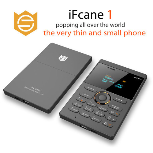 iFcane E1 Small Russian,German,French Italian,Arabic vibration Ultra thin Card Mini Mobile Cell Phones