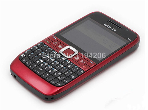 Original unlocked NOKIA E63 cell phones 3G WIFI Bluetooth mp3 player 2MP CAMERA  Refurbished phone One year warranty