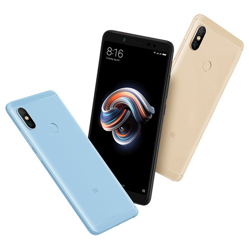 "Global Version Xiaomi Redmi Note 5 4GB 64GB Android 8.1 Mobile Phone Snapdragon 636 Octa Core 5.99"" 18:9 Full Screen Dual Camera"