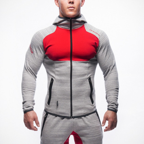 2016 Men Casual Hoodies Fitness Brand Clothing Camisetas Tracksuits Men Bodybuilding Sweatshirt Muscle Hooded Jackets
