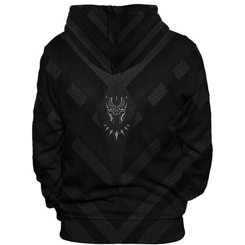 YFFUSHI 2018 Hip Hop  Men hoodies Fashion men Black Panther 3d print Hoodies Streetwear Casual Cospaly Sweatshirt Plus Size 5XL