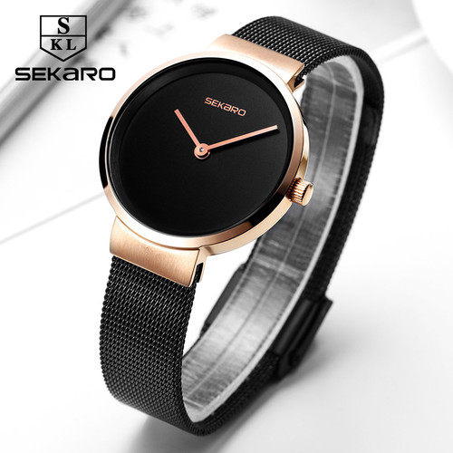 Sekaro 2820 women Wristwatches ladies quartz watch lady bracelet watch girl Simple clock Top brand luxury relogio feminino