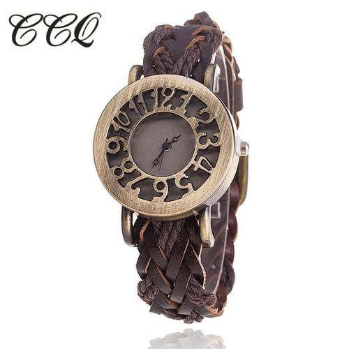 Dropshipping Fashion Hollow Out Watch Casual Women Bracelet Watch Vintage Quartz Watch Relogio Feminino Clock