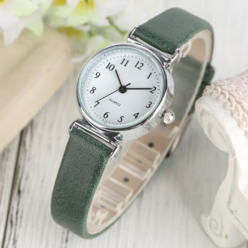 Black/Green/Brown/Red Small Dial Women's Bracelet Watches Ladies Quartz Simple Wrist Watch Girl Elegant Fashion Clock Best Gift