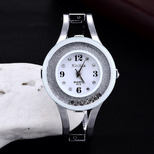 Fashion Full Steel Bracelet Watch Women Watches Rhinestone Women's Watches Ladies Watch Clock reloj mujer relogio feminino saat