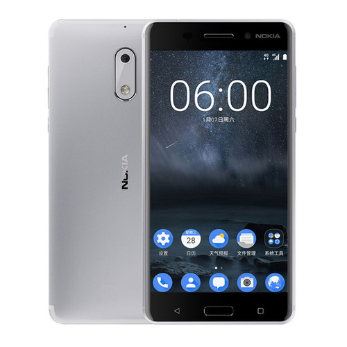 2017 New Original Nokia 6 Mobile Phone 4G LTE Dual SIM Qualcomm Octa Core 5.5'' Fingerprint 4G RAM 64G ROM 3000mAh 16MP Nokia6