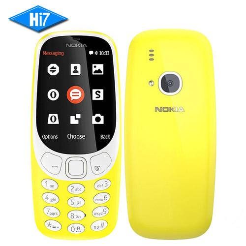 2017 NEW Original Nokia 3310 (TA-1030) 2.4 inch screen 2MP mobile phone GSM 1200mAh Dual SIM Smartphone