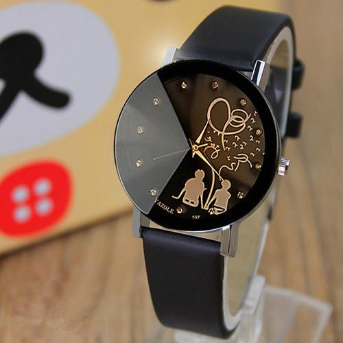 Famous Brand Lovers Cartoon Watch Women Lady Girl Men 2017 Female Clock Quartz-watch Cartoon-Watch Montre Femme Relogio Feminino
