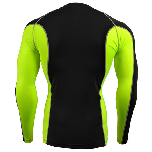 2018 Running T shirt Men Superman Compression Shirt Tights Men Thermal Under Tops Tee Shirts Sports Fitness Gym Clothing
