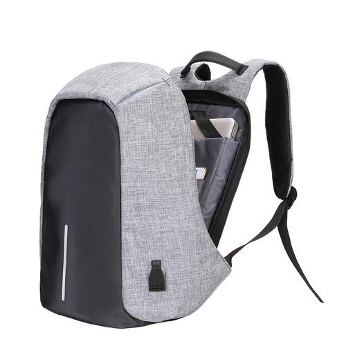 Multifunction Canvas Men Backpack Anti Theft With Usb Charging Laptop Business  Knapsack Shoulder Waterproof Women Travel Bag