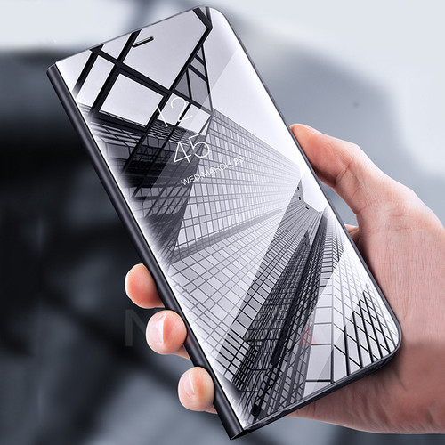 NAGFAK Luxury Flip Stand Smart View Case For Samsung Galaxy S9 S8 Plus S9 Phone Cover For Samsung S7 Edge Note 8 S9 Case Shell