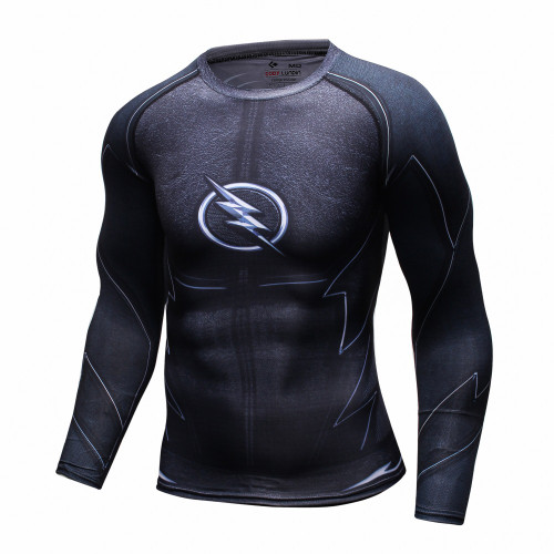 Captain America 3D Printed T-shirts Men Long Sleeve T Shirt Captain America Civil War Tee iron man Fitness Male Crossfit Tops