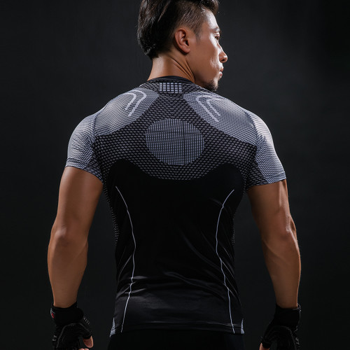 Iron Man Hottoys T Shirt Captain America Civil War Tee 3D Printed T-shirts Men Avengers Fitness Male Crossfit Tops