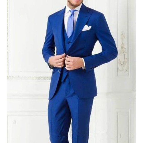 Best Selling 2018 Costume Homme Business Mens Suits Wedding Suits For Men Ternos Masculinos Slim Fit Tuxedos(Jacket+Pants+Vest)