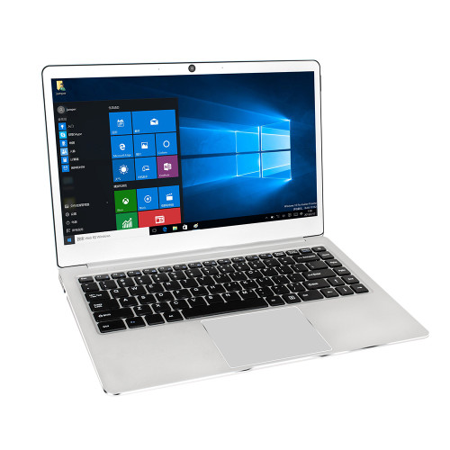 Jumper EZbook 3 Plus Laptop 14.0'' 1080P 8GB + 128GB Windows 10 Home Intel Core m3-7Y30 Dual WiFi Notebook Computer Metal Case