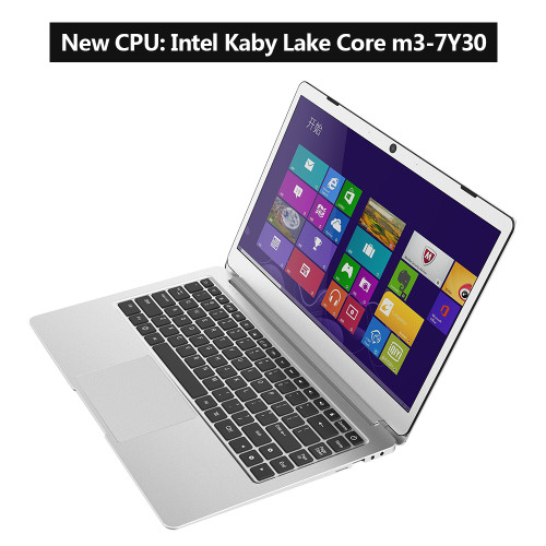 Jumper EZbook 3 Plus 14'' laptop Intel Core M 7Y30 802.11 AC Wifi 8G DDR3L 128G SSD Metal Case Windows 10 1080P FHD ultrabook