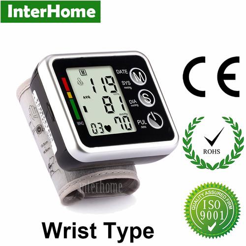Hospital Household Sphygmomanometer Wrist Blood Pressure Monitor Elderly Dizziness Hypertension Heart Pulse Measure Health Care