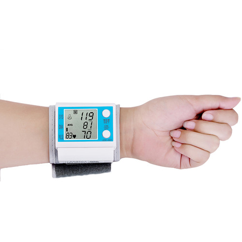 Beurha Automatic LCE Digital Wrist Blood Pressure Monitor Tonometer Health Monitors Pulse Rate Monitor Oscillometric method