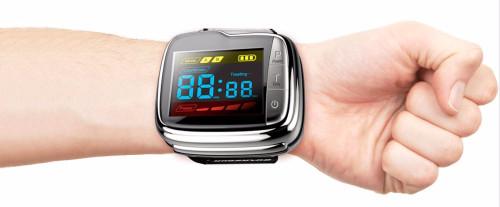 health care wrist pressure monitor digital blood glucose watch for reduce blood pressure
