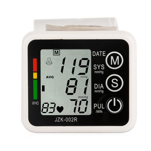 JZIKI Digital pulse wrist bp Blood Pressure Monitors meters tonometer pulsometro sphygmomanometer automatic health care monitors