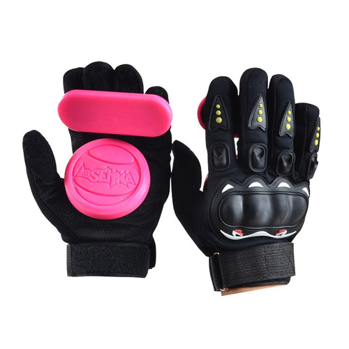 Downhill Skateboard Gloves Roller Safety Gear Longboard Slide Gloves With Slider Skate Accessoriesg For Peny Long Board