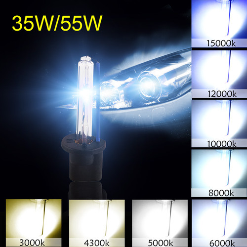 2Pcs HID Xenon H1 Bulb 35W 55W 3000K 4300K 5000K 6000K 8000K 10000K 12000K Auto Lamp 12V Car Headlight H1 Xenon Bulbs Fog Lights