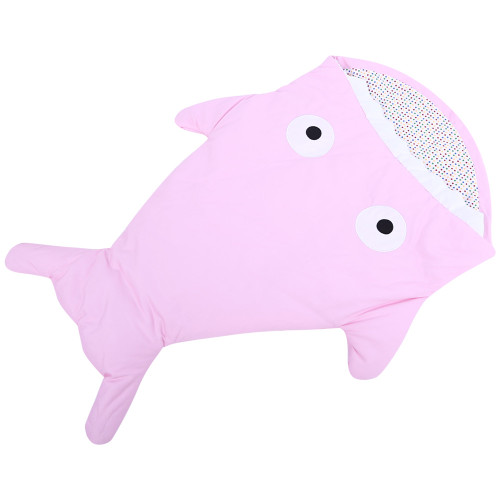 Wipalo Small Shell Cute Shark Baby Cartoon Sleeping Bag Newborns Winter Strollers Bed Swaddle Blanket Wrap Bedding Envelope Baby