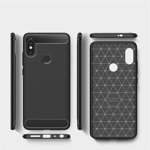 Redmi Note 5 Pro Case 64GB Silicone Armor Bumper Shockproof Back Cover Rugged Case for Xiaomi Redmi Note 5 Pro Global 5.99inch